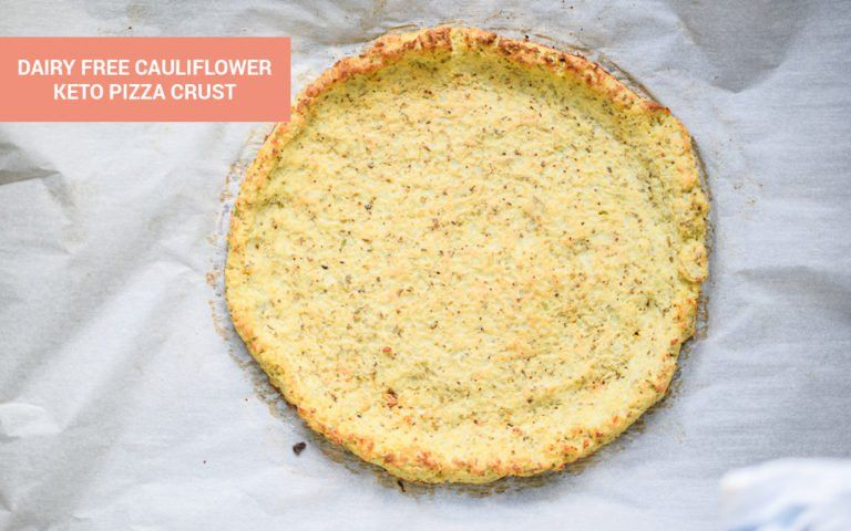 Dairy Free Cauliflower Pizza Crust Recipe Dairy Free Pizza