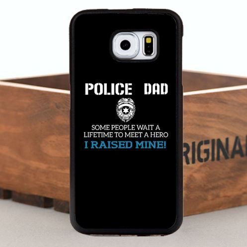 My Son/Daughter is a Hero - Police DAD Samsung Phone Case