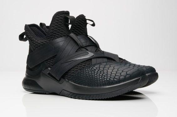 huge selection of 74b17 75f33 Nike LeBron Soldier 12 Triple Black Arriving This Weekend The Nike LeBron  Soldier 12 Triple Black