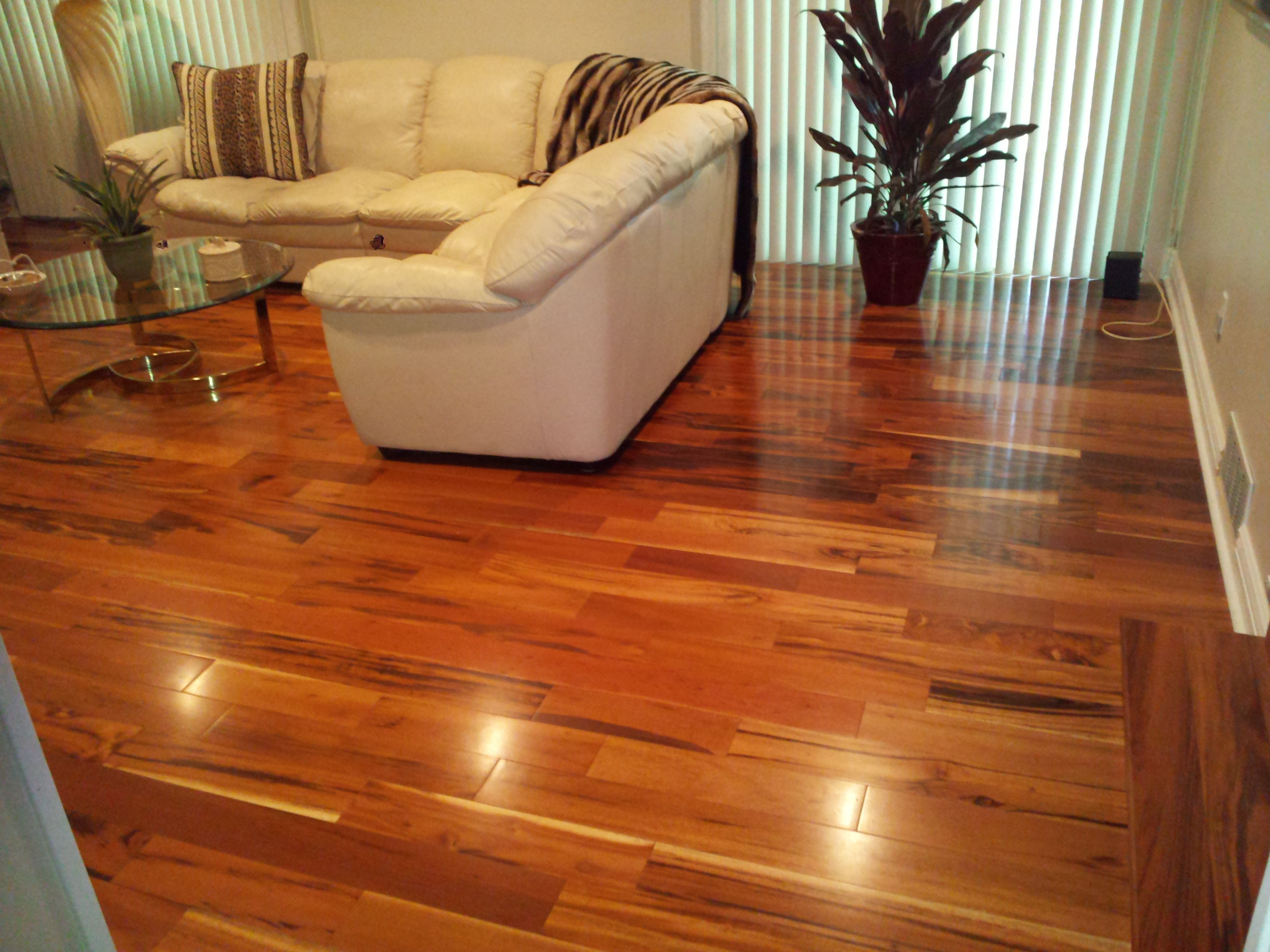 Image gallery tigerwood flooring for Tigerwood hardwood flooring