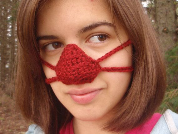 Crocheted Nose Warmers Nose Warmers Pinterest Crochet Nose