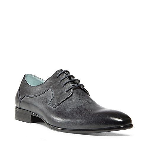 MAXXIMO NAVY LEATHER men's dress oxford no sub class - Steve Madden
