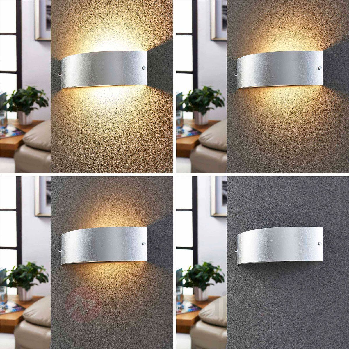 Applique LED  intensité variable Inga argentée
