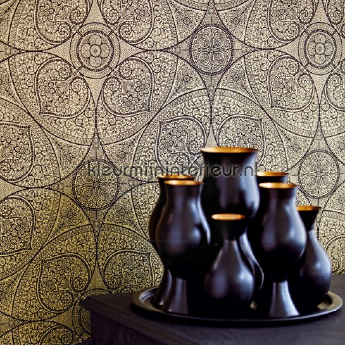 Het behang eiffinger yasmin indian pattern wandbekleding pinterest zoeken voor het huis - Deco hoofdslaapkamer ...