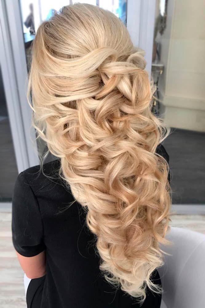 Half Up Half Down Bridesmaid Hairstyles ☆ See more: http ...