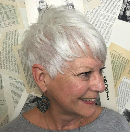 The Best Hairstyles and Haircuts for Women Over 70 | Pixie ...