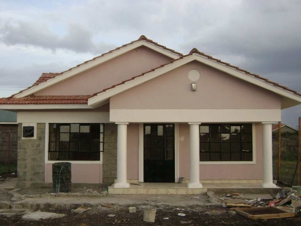 3 bedrooms house plans in kenya arts bedroom and designs for Free 3 bedroom bungalow house plans