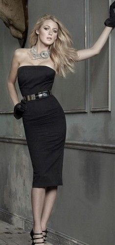 Some might say I have too many dresses in black......I say, each one is different ~ just the same color ღ