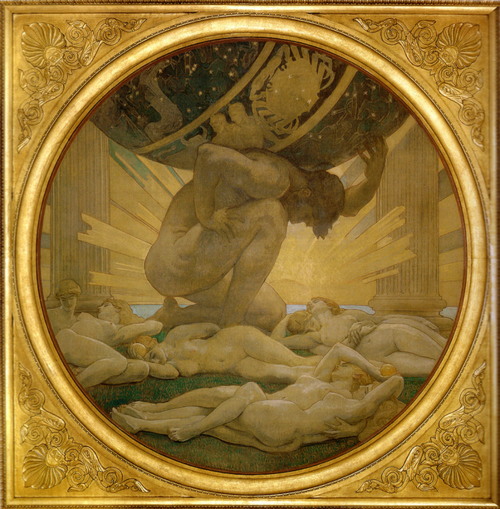 John Singer Sargent  Atlas and the Hesperides  1925  Boston Museum of Fine Arts
