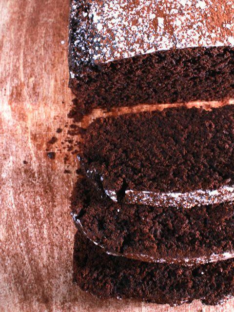 Bizcocho de cacao y café [