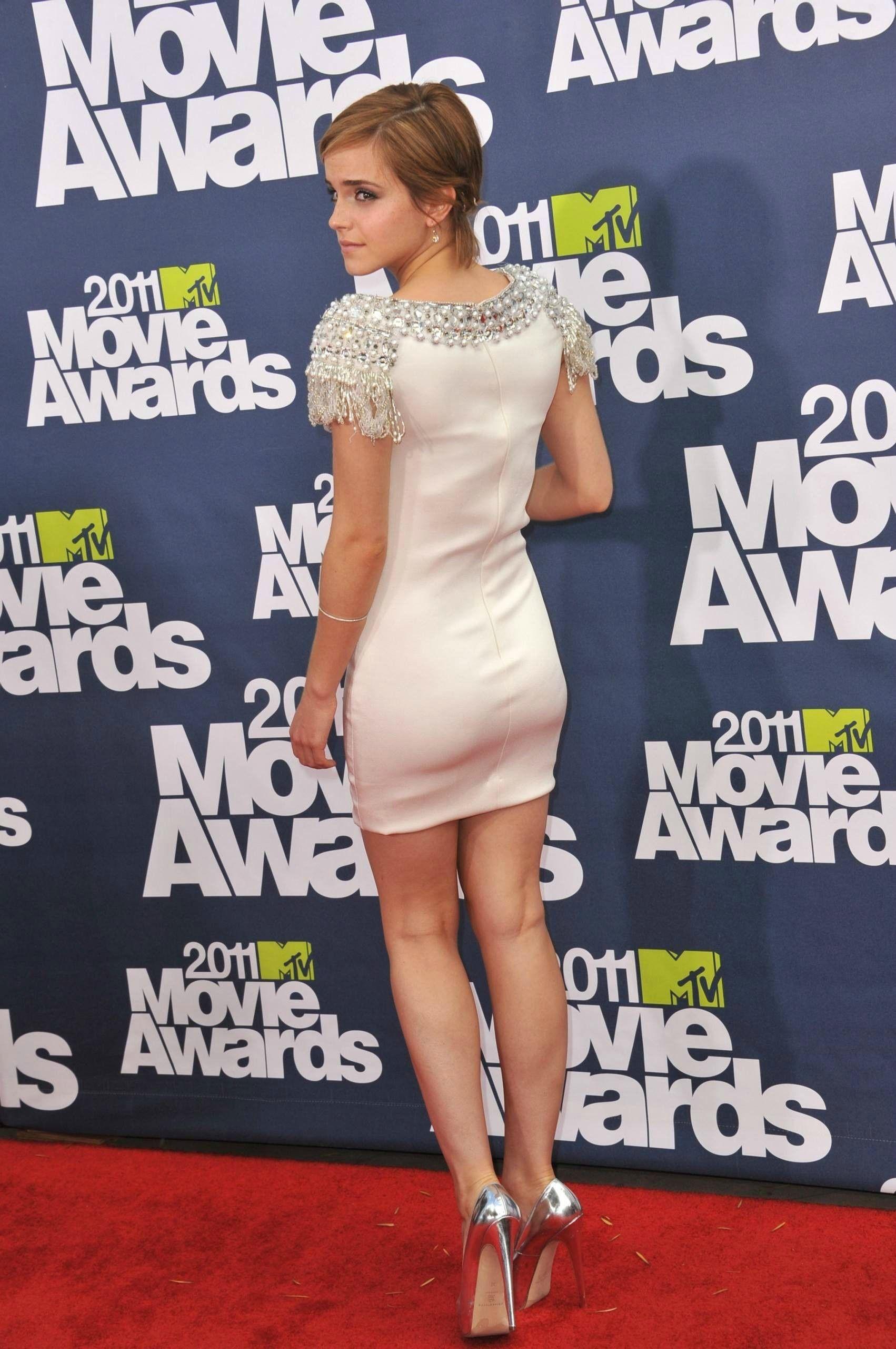 White dress emma watson - Emma Watson Little White Dress