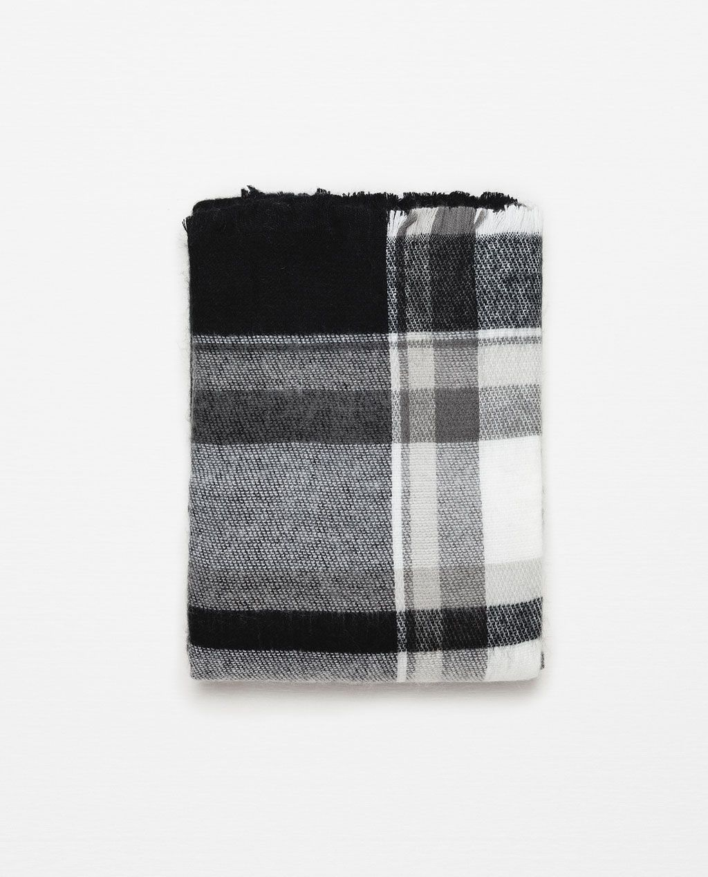 17b91c187c63 CHECKED AND STRIPED SCARF-View all-Accessories-Woman-COLLECTION SS16   ZARA  Singapore