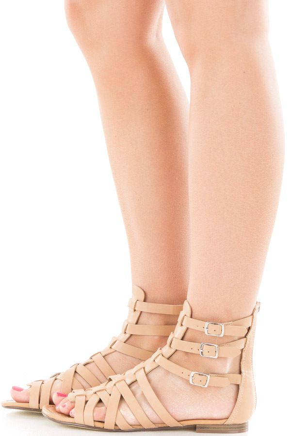 Lime Lush Boutique - Natural Faux Leather Strappy Gladiator Sandal, $29.99 (https://www.limelush.com/natural-faux-leather-strappy-gladiator-sandal/)#fashion#spring#happy#photooftheday#followme#follow#cute#tagforlikes#beautiful#girl#like#selfie#picoftheday#summer#fun#smile#friends#like4like#pinterestfollowers