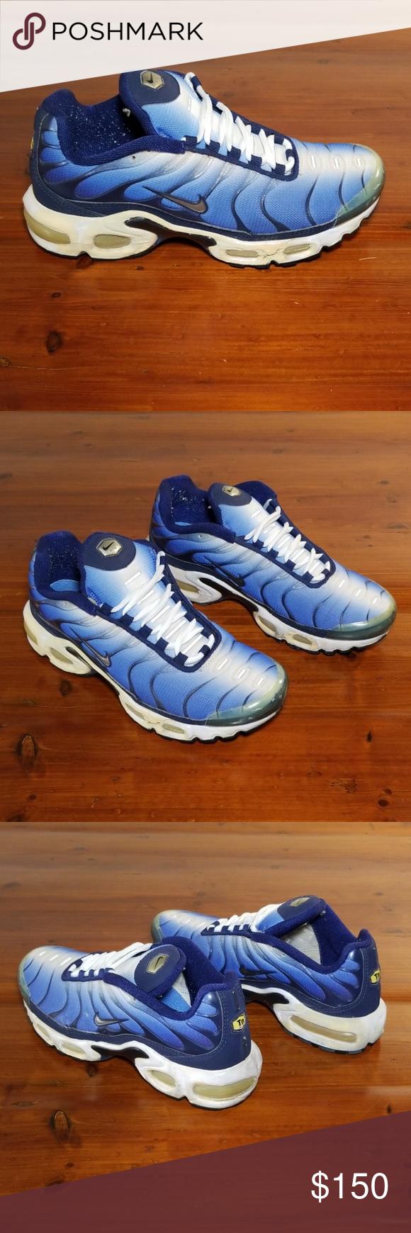 1999 Nike Air Max Plus TN. Original Hyper Blue. 1999 Nike