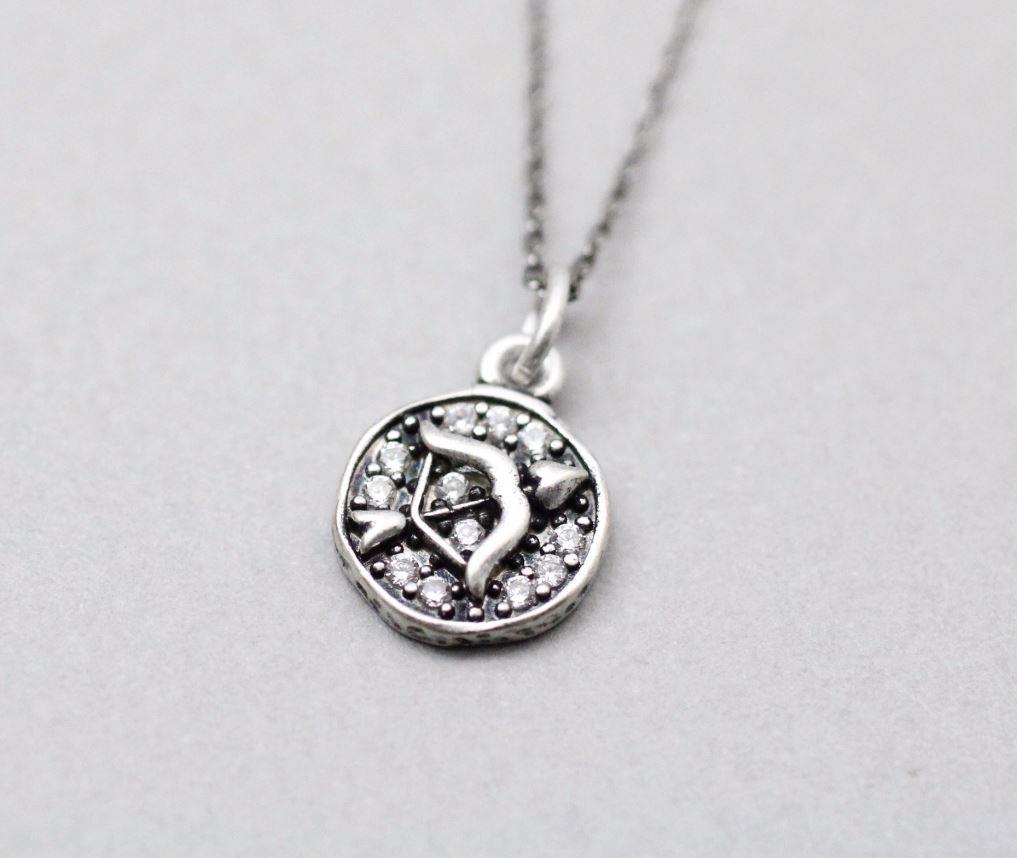 Luulla-Zizibejewelry-925 Sterling Silver Sagittarius, the Archer Pendant necklac - Zodiac Sign jewelry, N0896S-$29.00