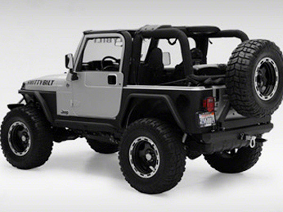Smittybilt Xrc Armor Tube Fenders W 3 Inch Flares Black Textured 97 06 Jeep Wrangler Tj Jeep Wrangler Jeep