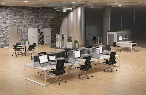 Modern Office Workstation Designs On Behance