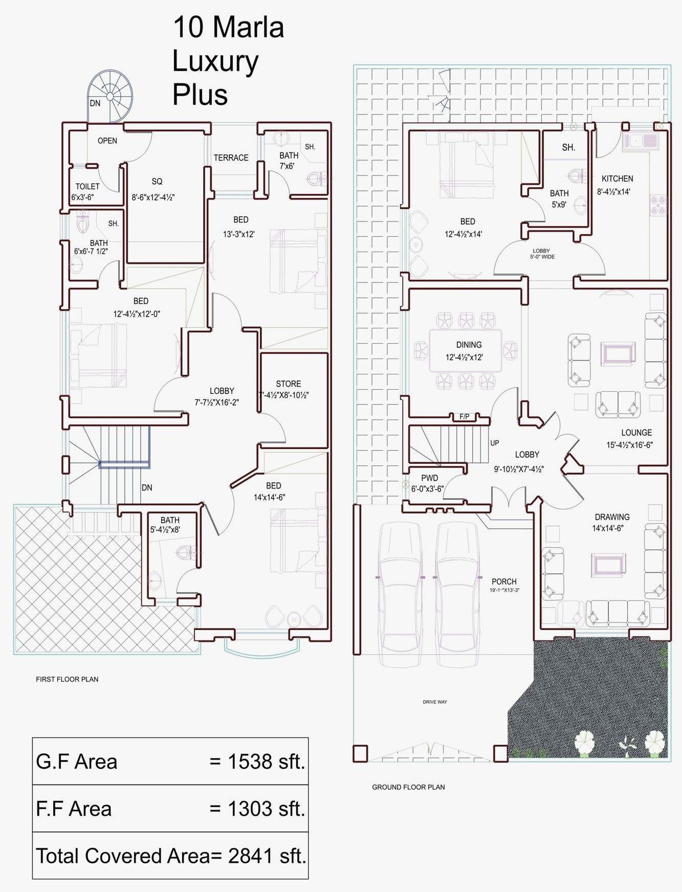 10 Marla House Design Best Of 10 Marla House Plans Civil Engineers Pk 10 Marla House Plan House Layout Plans My House Plans