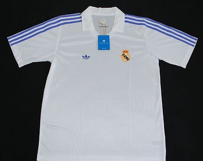 REAL MADRID ADIDAS ORIGINALS HOME FOOTBALL SHIRT (SIZE L