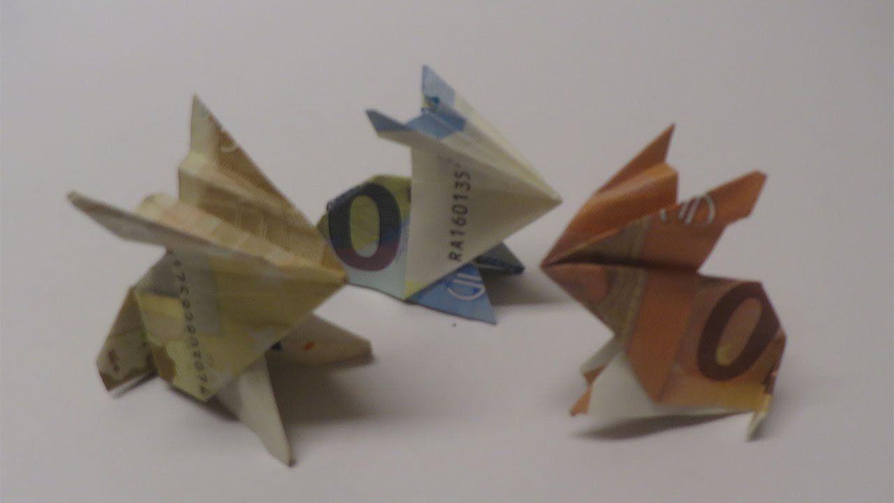 geld falten geldgeschenk basteln osterhase ostern diy ideen und deko pinterest origami. Black Bedroom Furniture Sets. Home Design Ideas