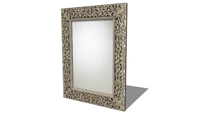 miroir KUPANG, maisons du monde, ref 122403 prix 299€ - 3D Warehouse ...