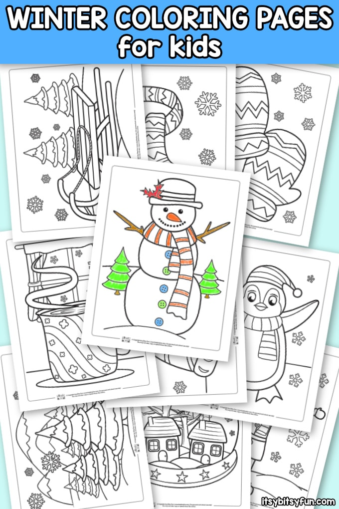 Winter Coloring Pages Itsybitsyfun Com In 2020 Coloring Pages Winter Winter Crafts For Kids Coloring Pages For Kids