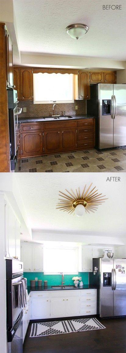 Cocina en remodelación Fase 1 /   wwwabeautifulmess - remodelacion de cocinas