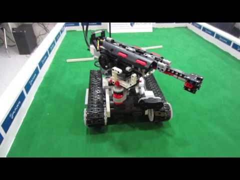 Battle tank model made with lego mindstorm ev3 - YouTube | STEM ...