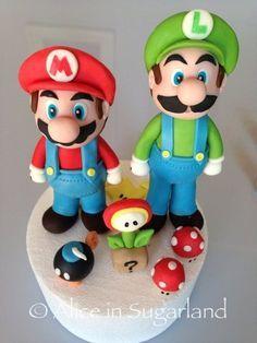 Mario Et Luigi Champignion Fleur De Feu Bombe Ouahhhh Mario