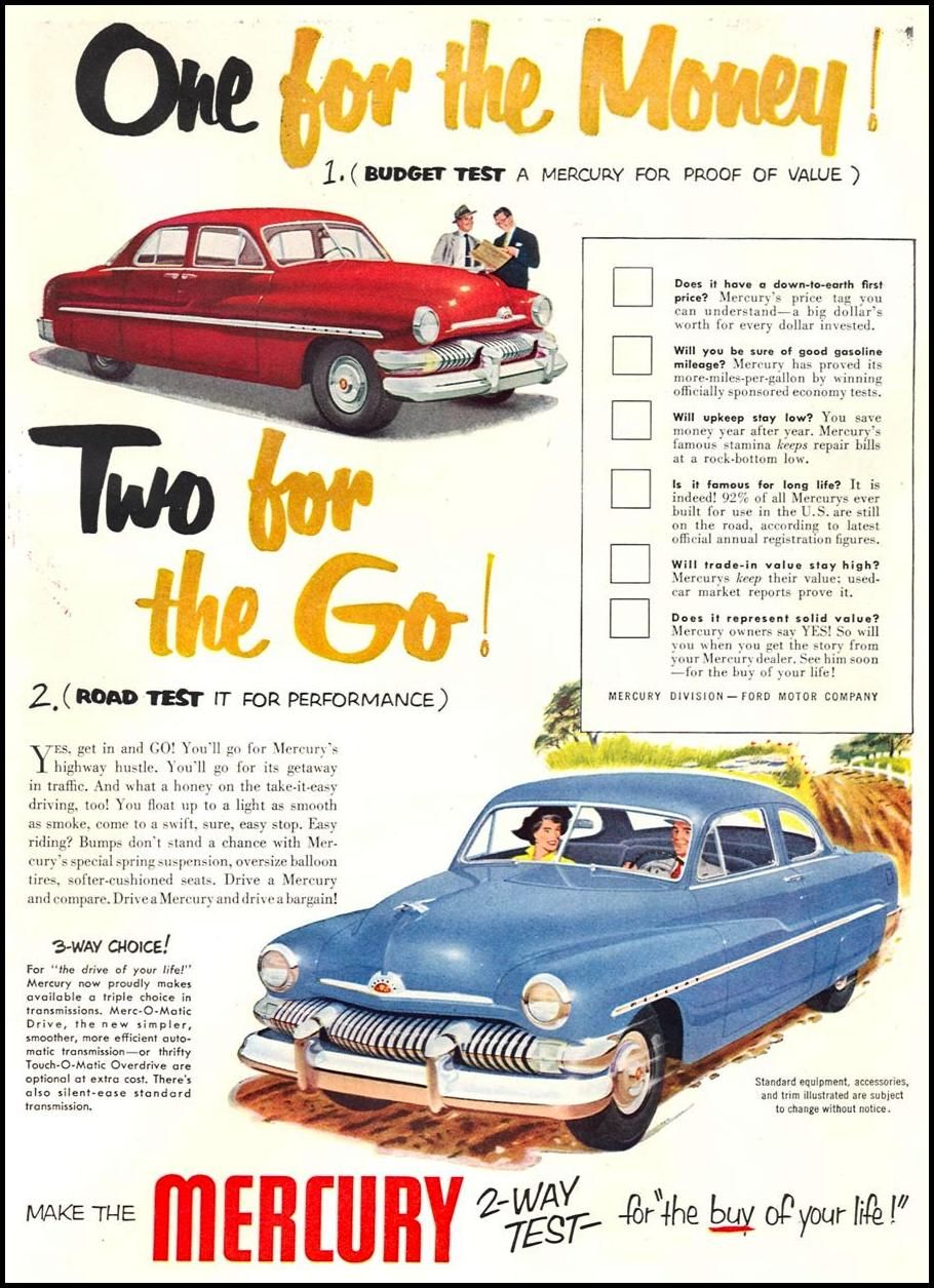 Ford Mercury | Ford Motor Company | Pinterest | Ford, Ford motor ...