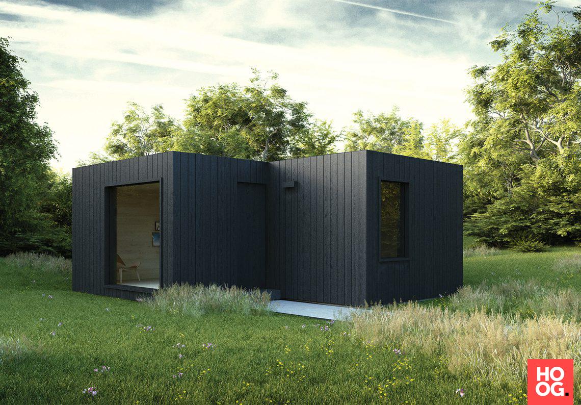Livinlodge houten bijgebouwen - Livinlogde Mobile Livin mantelzorg - Hoog ■ Exclusieve woon- en tuin inspiratie.