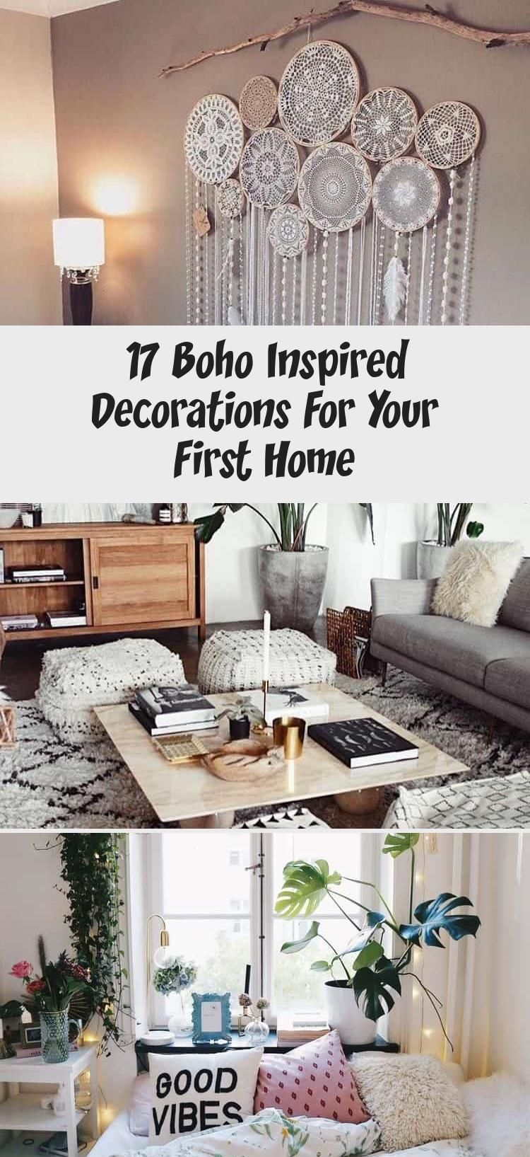 17 Boho Inspired Decorations For Your First Home In 2020 With
