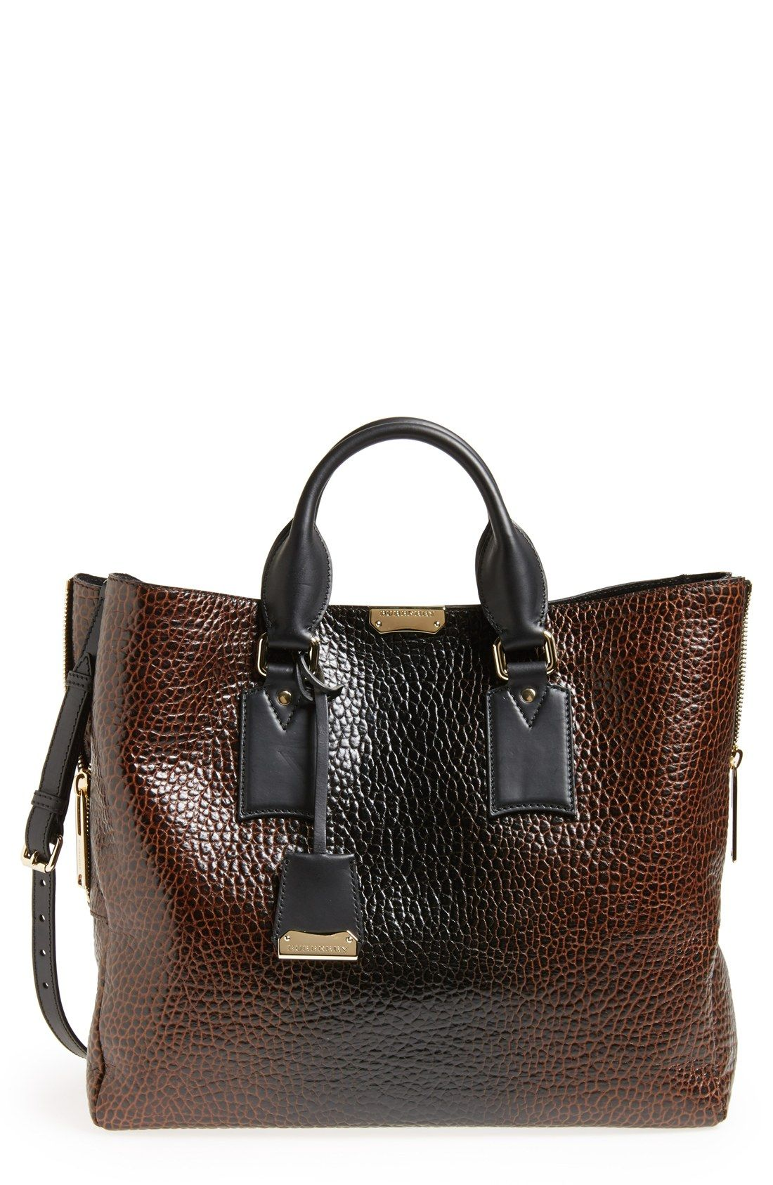 3d3dd03dab75 This Burberry  Large Callaghan  leather tote screams luxury ...
