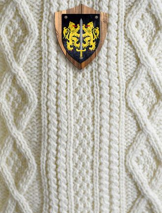 Carroll Clan Aran Throw Clans Pinterest Aran Sweaters Cable New Aran Throw Blanket