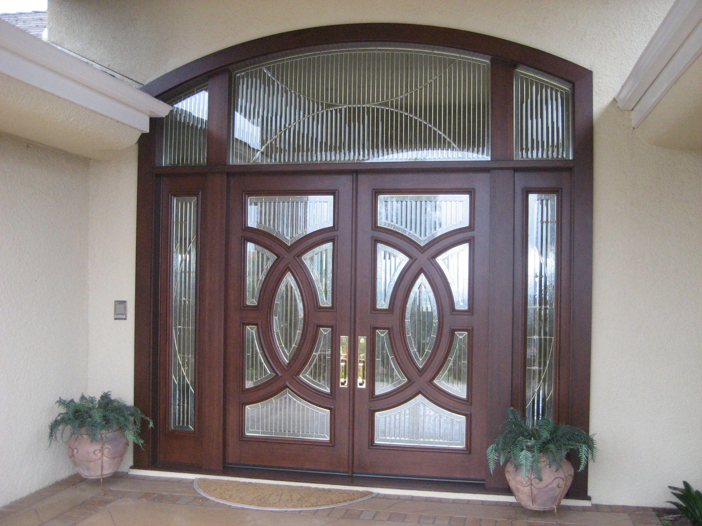 Custom Wood Door By Grand Entrances In San Diego Ca Modern Door Contemporary Front Door Contemporary Front Doors Diy House Projects Custom Wood Doors