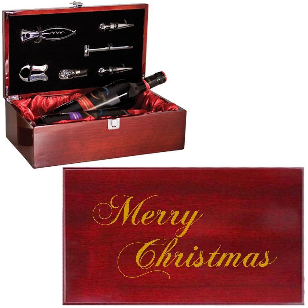 Wine Box Double Bottle Set Specialty Item Laser Engraved Etsy Wine Box Bottle Wine Temperature