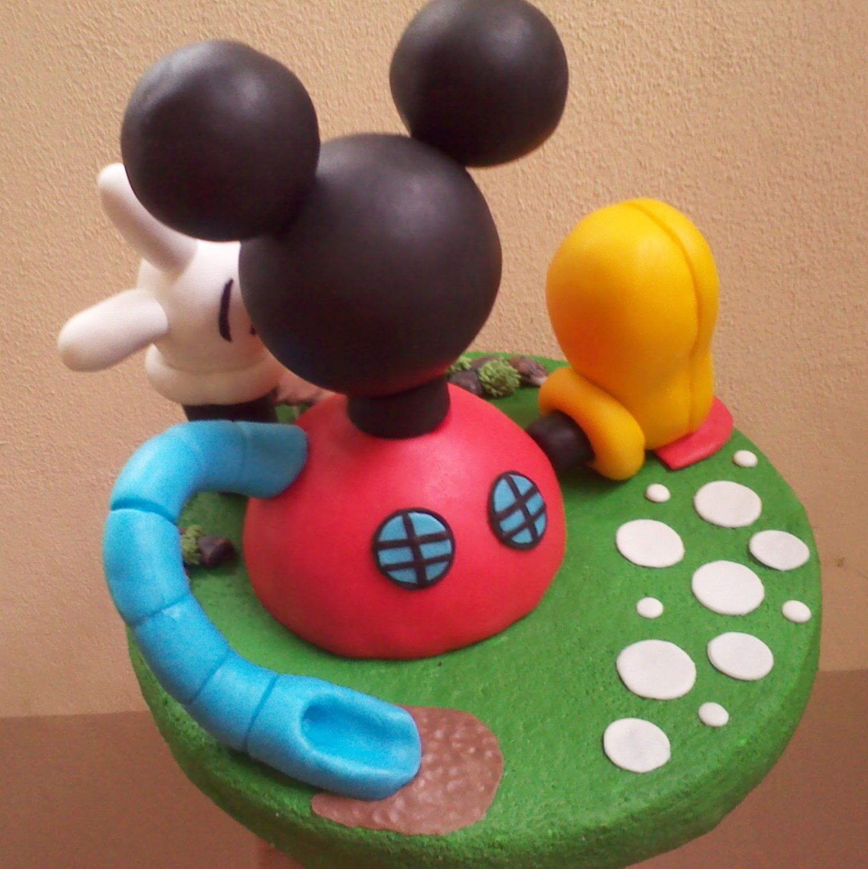 Casa de Mickey Mouse (play house disney) | porcelana fria ...
