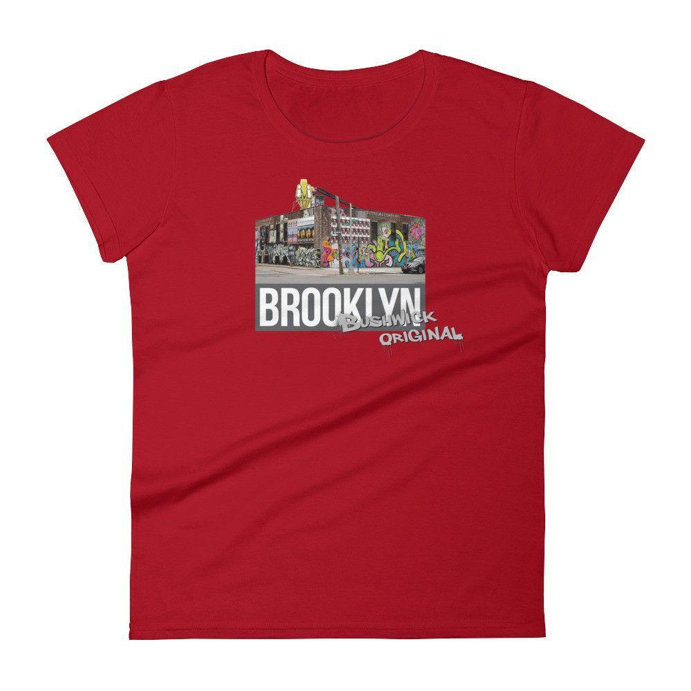 Bushwick Original Women's T-Shirt - Gray