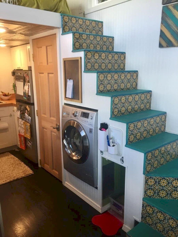 65 Space Saving Tiny House Storage Organization and Tips Ideas #tinyhousestorage