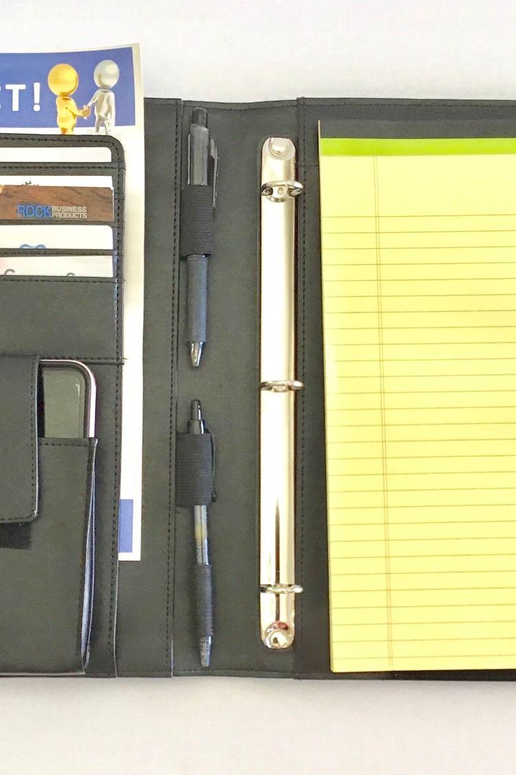 Padfolio Resume Portfolio Folder Interview Legal Document Organizer Business And Credit Card Holder Let Padfolio Documents Organization Cell Phone Holder