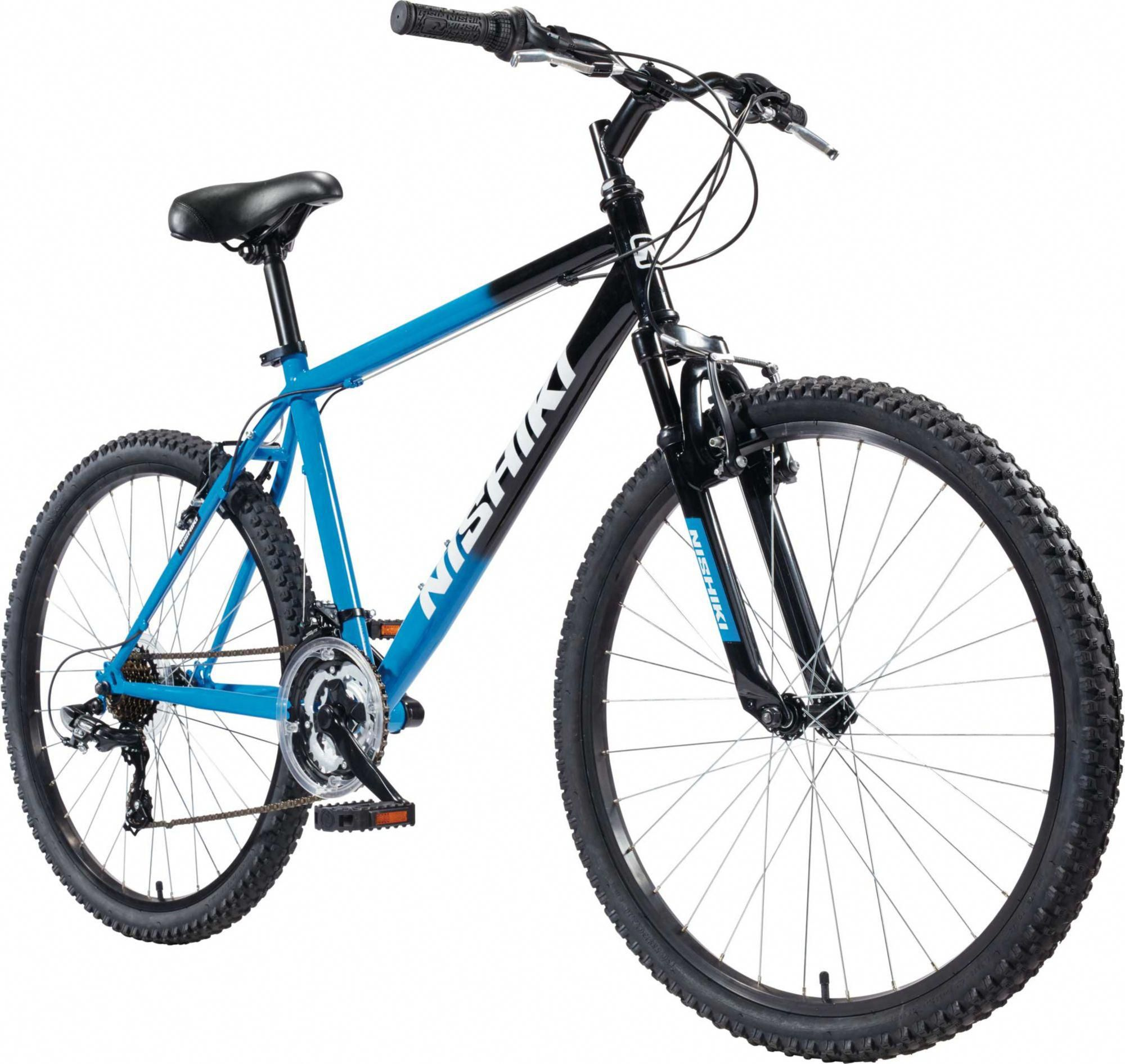 6ddc495a4cf Nishiki Men's Pueblo 26'' Mountain Bike, Blue ...