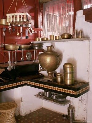 Charmant Ethnic Indian Decor: Traditional Indian Kitchen