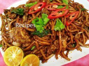 Resepi Mee Goreng Mamak Kategori Sajian Sampingan Bahan Bahan 1 Bungkus Mee Kuning Dibasu Resep Makanan Masakan Malaysia Resep Masakan Malaysia