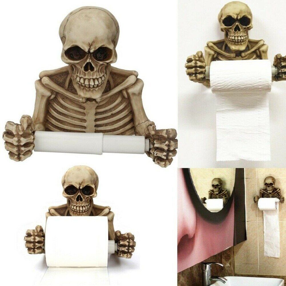 Skull Toilet Paper Roll Holder Wall Mount Dry Towel Bathroom Home Decor LBShipping #toiletpaperrolldecor Skull Toilet Paper Roll Holder Wall Mount Dry Towel Bathroom Home Decor LBShipping #toiletpaperrolldecor Skull Toilet Paper Roll Holder Wall Mount Dry Towel Bathroom Home Decor LBShipping #toiletpaperrolldecor Skull Toilet Paper Roll Holder Wall Mount Dry Towel Bathroom Home Decor LBShipping #toiletpaperrolldecor