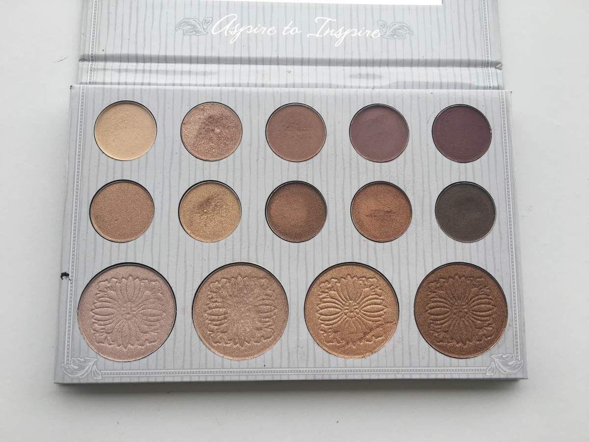 Carli Bybel Eyeshadow & Highlight Palette by BH Cosmetics