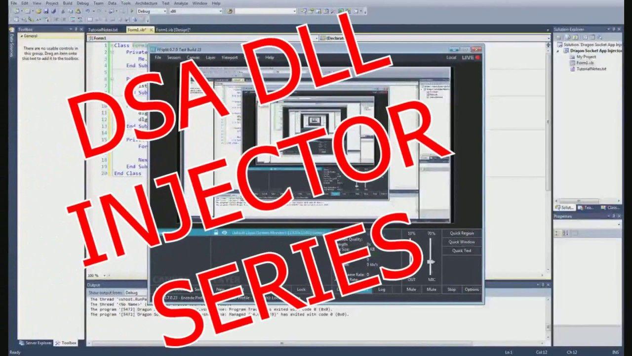 DSA DLL Injector Episode 4 | Tutorials - Development