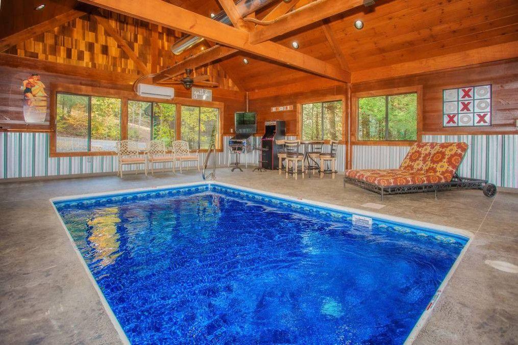 Peaceful Creek 2 Bedroom Cabin Rental Cabin Rentals Cabin Indoor Swimming Pools