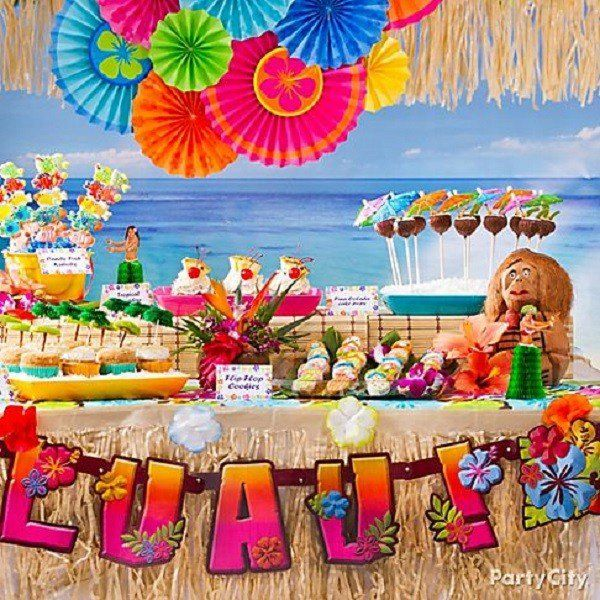 Summer Birthday Party Ideas For Girls Luau Party