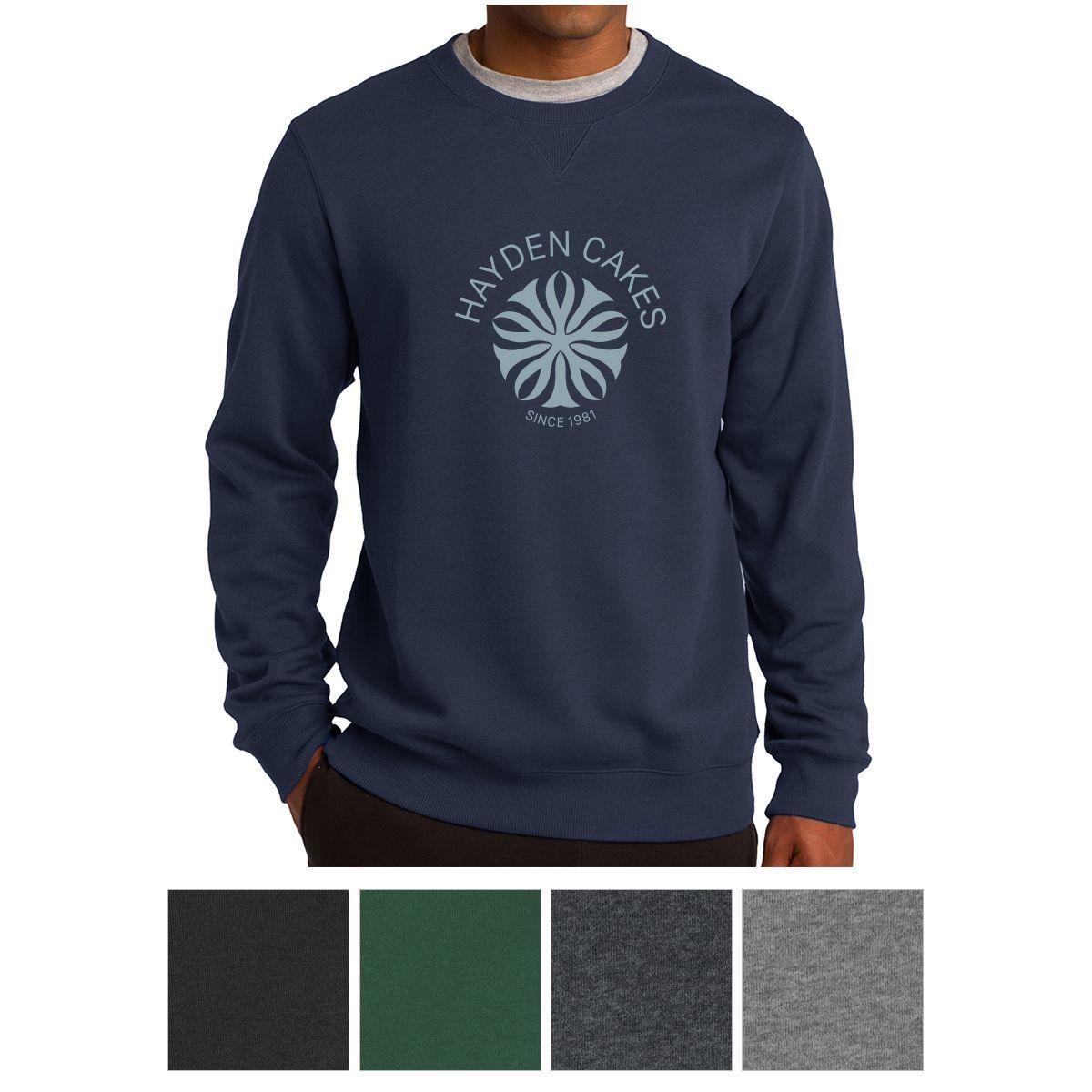 SportTek® Crewneck Sweatshirt in 2020 Sweatshirts, Crew