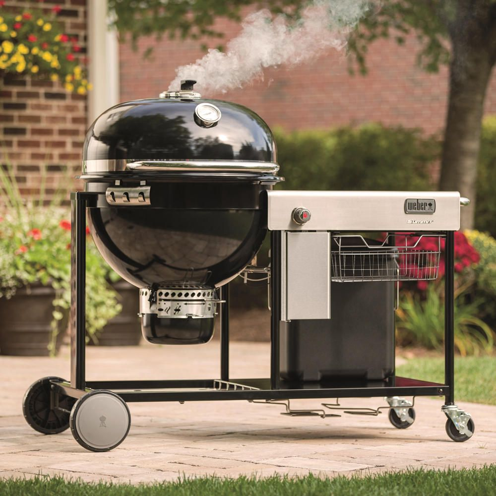 Weber Summit Charcoal Grilling Center Free Shipping Amp Lowest Price Firecraft Charcoal Grill Grilling Bbq Grill